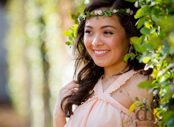 Leaf Flower Crown Greenery Hair Wreath Blush Floral Crown Bridal